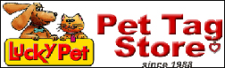 Lucky Pet tags logo